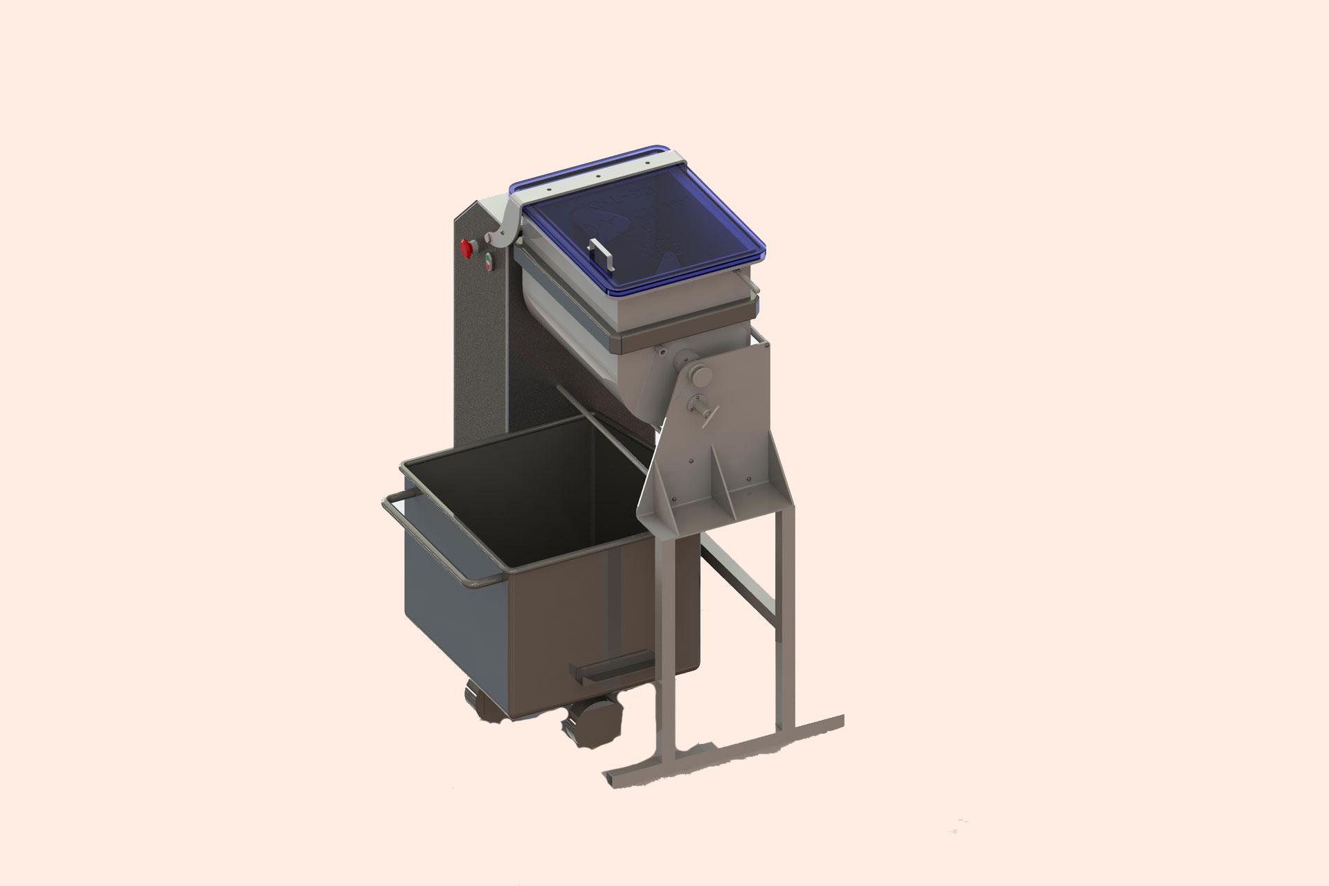 AMMM-80-BG Automatic Meatball Mixer Machine